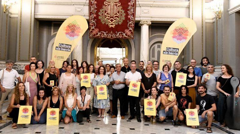 El programa Cultura als Barris descentraliza las actividades culturales por toda la ciudad de Valencia