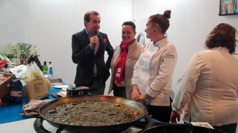 La gastronomía de Villajoyosa brilló en Fitur