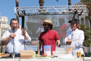 Tastarròs, el escenario de la contienda entre la paella tradicional y de vanguardia