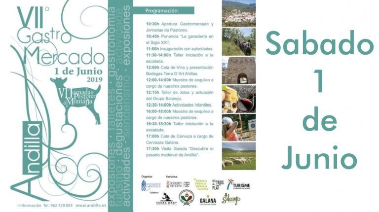 VII Gastromercado y VI Jornadas de Pastoreo de Montaña en Andilla