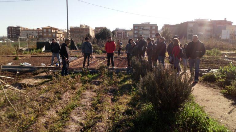 Curso sobre Agricultura Ecológica en los huertos sociales en Alboraya