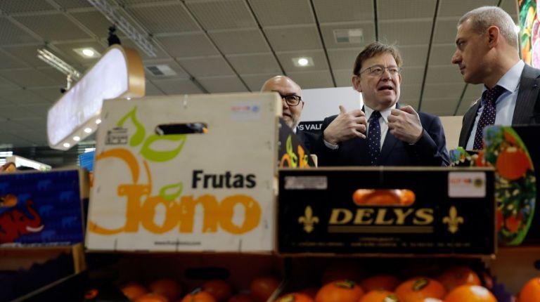 La creación de un observatorio de frutas y hortalizas es la propuesta de Ximo Puig en Fruit Logistica