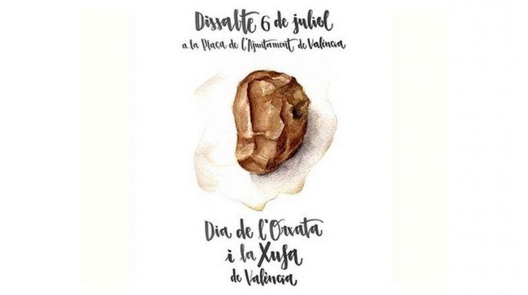 """LA PLAZA DEL AYUNTAMIENTO DE VALENCIA ACOGERÁ POR TERCER AÑO CONSECUTIVO EL """"DIA DE L'ORXATA I LA XUFA DE VALÈNCIA"""""""