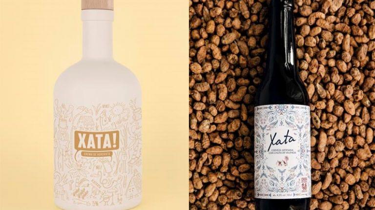 Xata!: licor y cerveza con sabor a horchata de la marca Fartons Polo