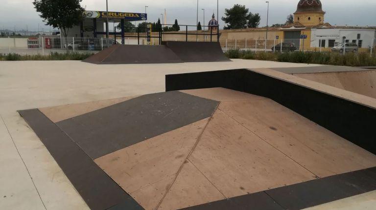 Xàtiva repara la pista de skate park