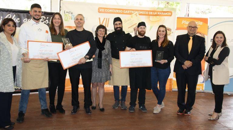 Cyrus Dad, Kuzina y Chocomel, ganadores del concurso de la naranja de Sagunto