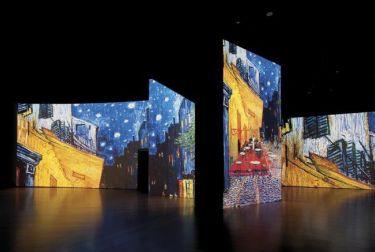 """Alicante recibe la gran exposición multisensorial """"Van Gogh Alive: The Experience"""""""