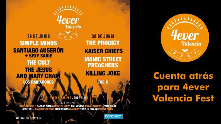 Cuenta atrás para 4ever Valencia Fest