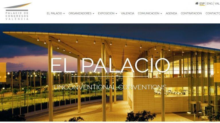 EL PALACIO DE CONGRESOS DE VALÈNCIA ESTRENA PÁGINA WEB MÁS ACCESIBLE E INTERACTIVA