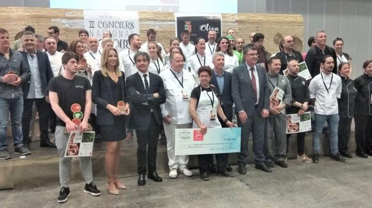 """La """"Coca de Pico"""" del Restaurante Oasis, premiada en el """"Concurs Nacional de Coques"""" de Oliva"""